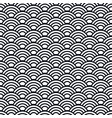 japanese waves seamless pattern template wavy vector image vector image