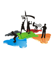 logo teens 03 vector image vector image