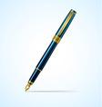 pen vector image vector image