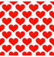 pink hearts love seamless background pattern vector image