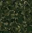 Camouflage outdoor disruptive khaki seamless vector image vector image