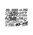 catchwords signs monochrome font symbols isolated vector image