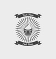 collection vintage retro bakery logo badges vector image