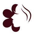 Female flower face vector | Price: 1 Credit (USD $1)