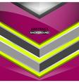 geometric violet background design vector image vector image