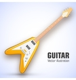 guitar background concept vector image