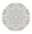 Mandala oriental pattern doodle drawing