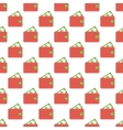 Purse pattern seamless vector image vector image