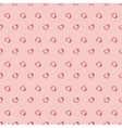 seamless background with polka dots and vector image vector image