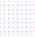 seamless pattern on valentines day texture with vector image vector image