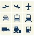 Tranport Icon vector image vector image