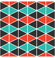 simple geometric background with triangles vector image