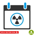 Atomic Calendar Day Eps Icon vector image vector image