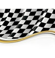 Checkered flag background vector | Price: 1 Credit (USD $1)