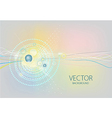 Colorful lines graphic wallpaper vector image vector image