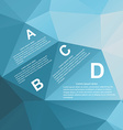 Geometry Infographic vector image vector image