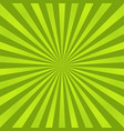 green ray background vintage abstract texture vector image