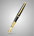 Luxury pen vector image vector image