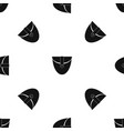 small pocket patch pattern seamless black vector image vector image