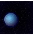 Cartoon Venus in open space vector image