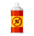 cockroach spray icon insecticide and hygiene vector image vector image