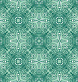 Decorative vintage pattern vector image vector image