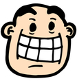 Funny face vector image vector image