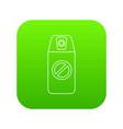 mosquito spray icon green vector image vector image