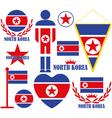 North Korea vector image vector image