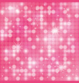 pink lovely background vector image