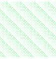 seamless abstract green diagonal square pattern vector image vector image
