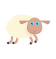 sheep icon flat style vector image