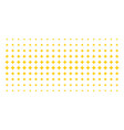 sparkle star shape halftone pattern vector image