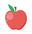Apple In Flat Style Design vector image vector image