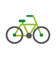 bicycle drawing isolated icon vector image vector image
