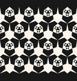 black and white geometric pattern modern abstract vector image