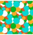 Bold polka dot pattern vector image vector image