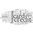 business credit cards choose wisely vector image vector image