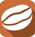Coffee Bean Icon vector image vector image