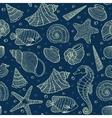 ocean inhabitants vector image vector image