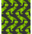 Tyrannosaurus t-rex seamless pattern Background of vector image