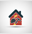 icon construction vector image