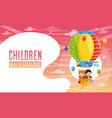 children background vector image