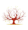 huge tree vector image