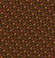 pinecones on brown vector image vector image