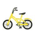 velo bike on white background vector image