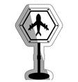 airport road sign design
