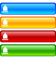 Condom buttons vector image vector image