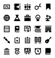 Education and School Icons 8 vector image