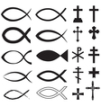 Fish and cross